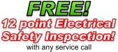 Reno Free 12-point electrical safety inspection